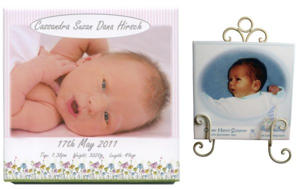 Christening Gift Name Tile