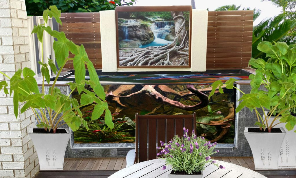 Revamp Your Patio With Tile Art Jennoli Art - Ceramic tile murals for outdoors