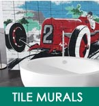 Decorative tile murals