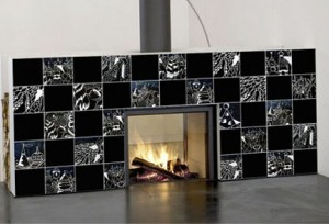 Custom printed ceramic tiles