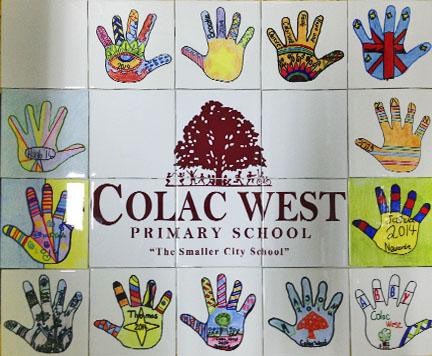 School art tiles