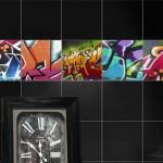 Accent Graffiti Tiles