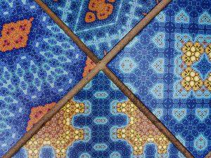 custom printed designer tiles