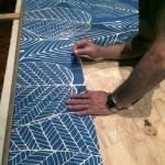 printed matte tiles