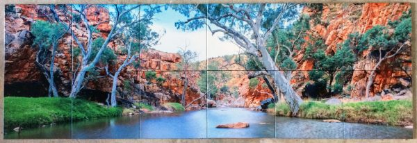 custom photo splashback tiles