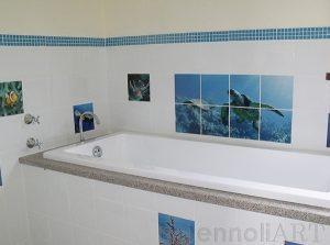 fun tiles for bathroom
