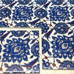 printed old patterned tiles