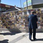 public tile mural