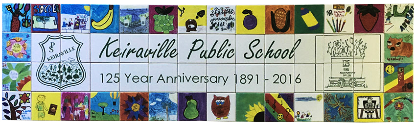 school art fundraiser tiles