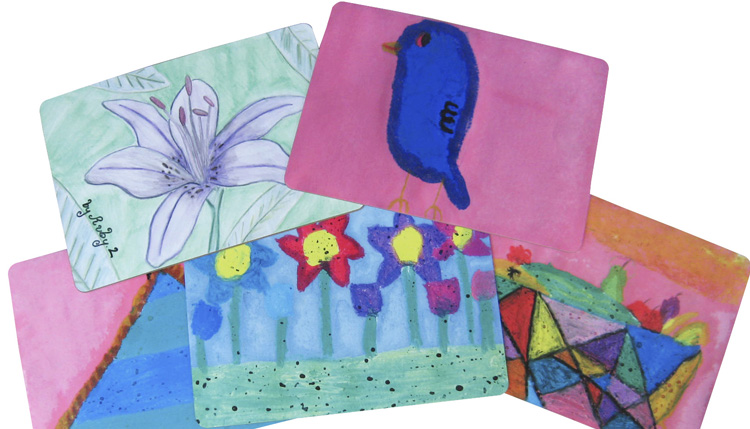 School Art Fundraiser Placemats
