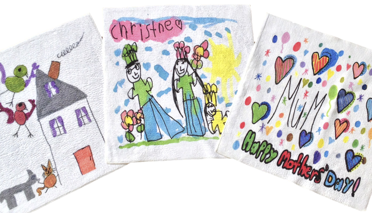 Personalised Towels for Mum