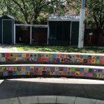 art on tiles for school