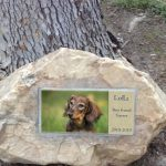 Outdoor Sympathy Pet Plaque
