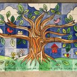 Commemorative Tile Mural Tree of Life