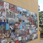 Photo Tiles on School Mural