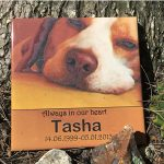 Outdoor Dog Sympathy Tiles