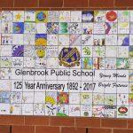 Childrens Art on Tiles