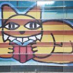 ccustom printed streetart tiles