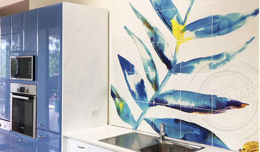 Decorative Tile Murals Kitchen
