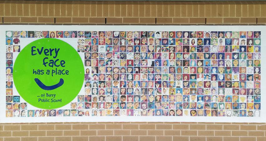 Art Tile Installation for fundraiser
