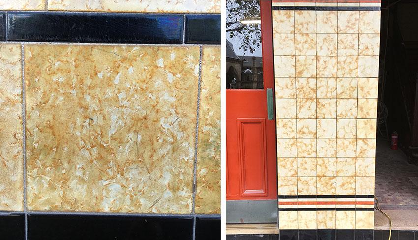 replica heritage tiles