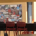 school tile mural