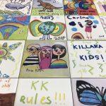 kids art tiles