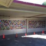 Commemorative Tile Walls for school