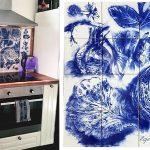 Blue Art Tiles