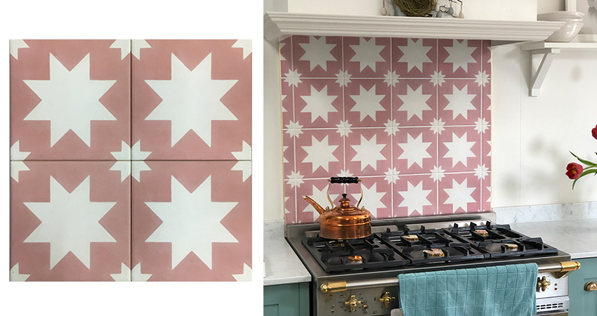 Custom Patterned Tile