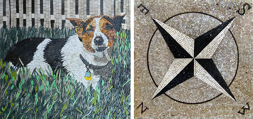 Outdoor Mosaics Personalised