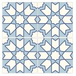 Pool Tiles Moroccan StarWaterline Tile 22 b