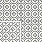 """Patterned Floor Tile """"Haden"""" 450x450mm"""