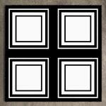 """Floor Tile """"Sandon black"""" 450x450mm"""