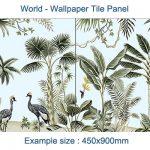 Jungle Tile Panel 2x450x450mm
