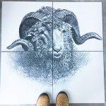 Custom Made Tile Panel