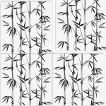 Bamboo - Set of 4 Tiles