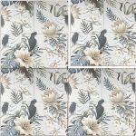 Decorative Tile Panel Botanica