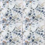 Wallpaper Tiles Floral Design
