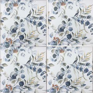 Wallpaper Tiles Floral Design