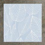 Design Blue Leaf