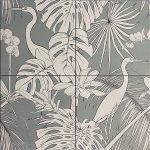 Tile Panel Design Heron Sage