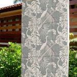 Wallpaper Tile Panel Heron